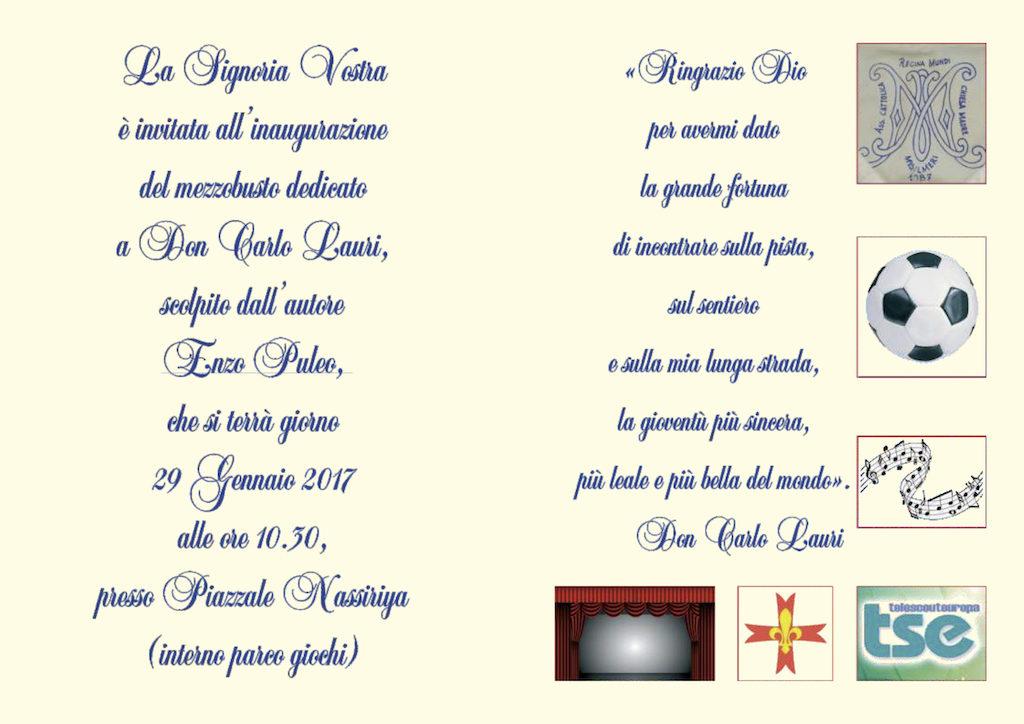 Mezzobusto - Don Carlo Lauri - invito_2