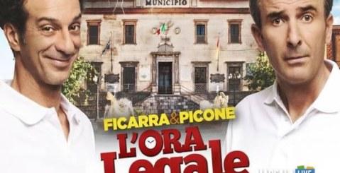 Cinema, scocca l'Ora legale, il 19 Gennaio al Cinema con Ficarra & Picone