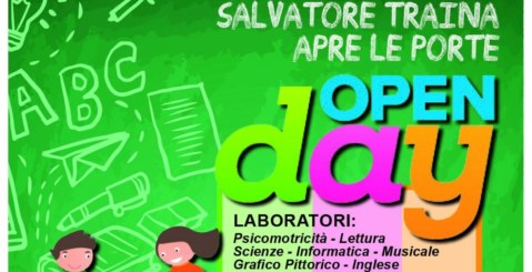 Open Day, la scuola Traina apre le porte