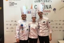 Lo Chef misilmerese Dario Arena campione italiano di Cucina