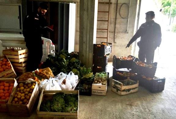 Misilmeri. Sequestrati 1000 Kg di frutta e verdura agli ambulanti