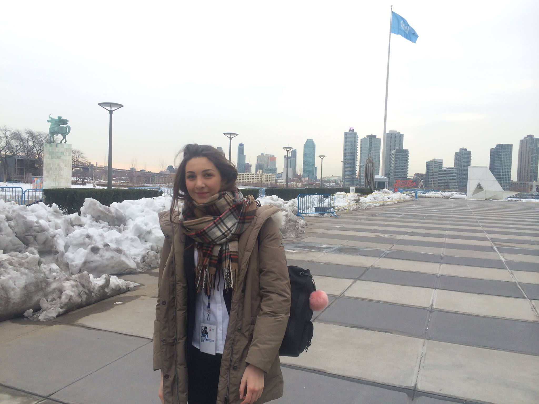 Simulazione assemblea ONU, menzione d'onore per la misilmerese Carlotta Migliore