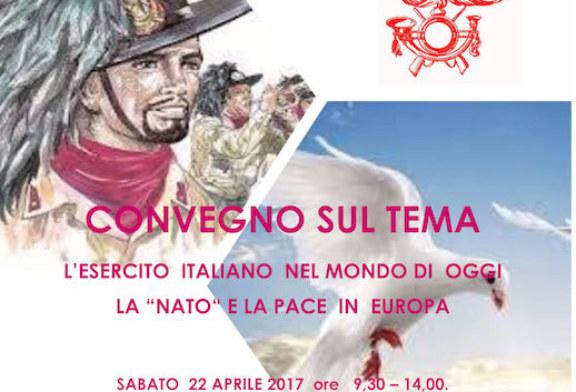 """""""L'esercito Italiano nel mondo di oggi – La Nato e la pace in Europa"""""""