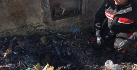Misilmeri, sorpresi a dar fuoco ai rifiuti in campagna