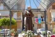 Inaugurata la nuova statua di Padre Pio