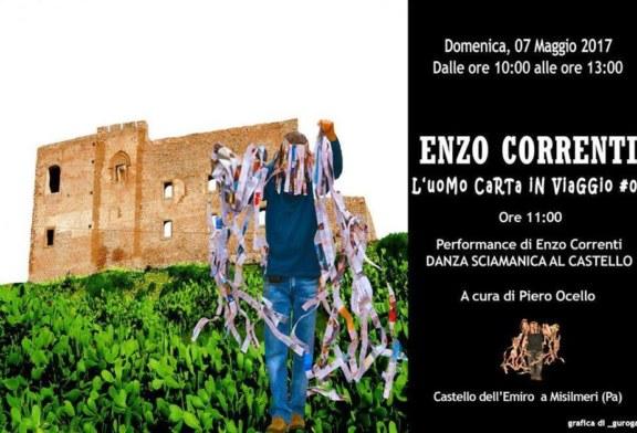 L'uomo carta torna a Misilmeri, domenica Enzo Correnti al Castello