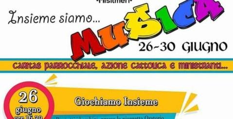 Parrocchia San Gaetano, 4 giorni di attività per bambini e ragazzi
