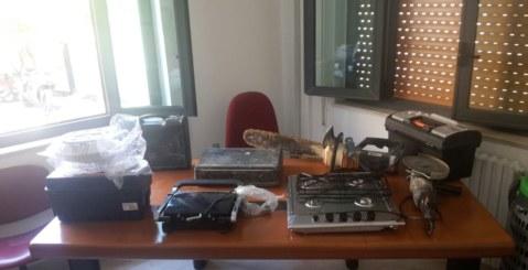 Carabinieri, rinvenuto materiale rubato nelle campagne misilmeresi
