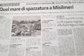 Sul Giornale di Sicilia: Misilmeri mare di spazzatura