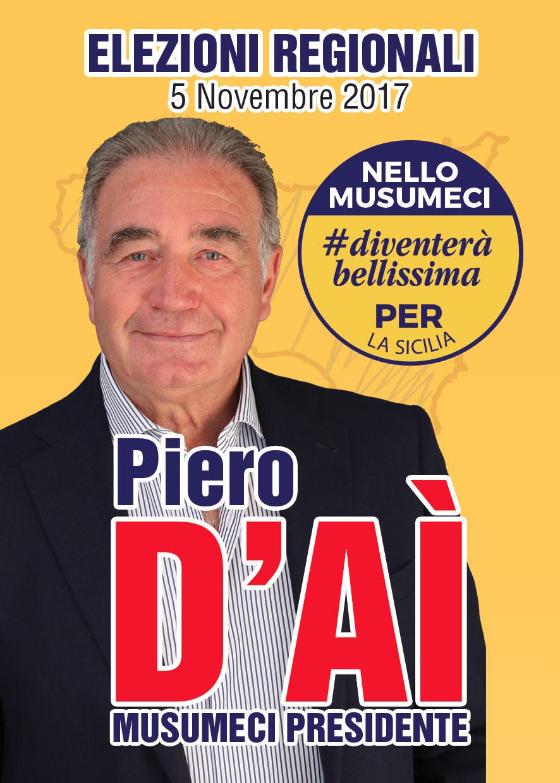Piero D'Aì – Elezioni Regionali