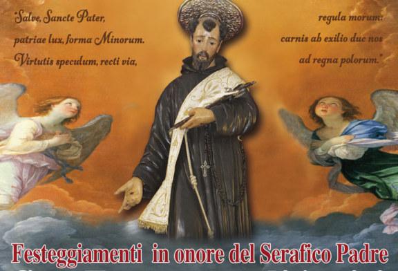 Al via i festeggiamenti in onore di San Francesco