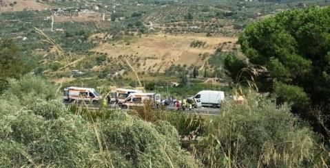 SS121, grave incidente sulla Palermo-Agrigento