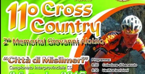 """Domani l'11° Cross Country """"Città di Misilmeri"""" memorial """"Giovanni Aloisio"""""""