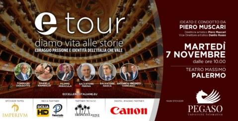 E-tour, al Teatro Massimo premiati i fratelli Cancascì