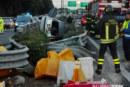 Incidente sulla PA-CT, misilmerese sfonda guardrail. E' Grave