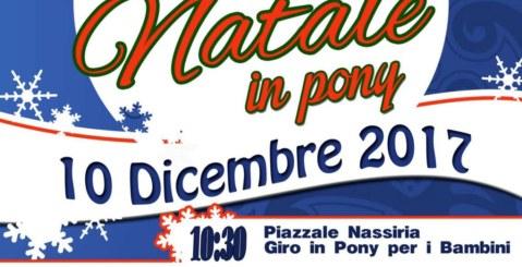 """Domani """"Natale in Pony"""" per le vie di Misilmeri"""