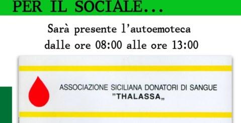 Domenica 17 la Thalassa a Misilmeri