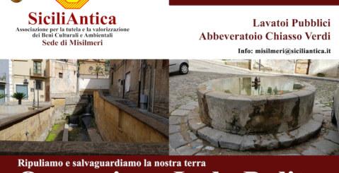 """SiciliAntica Misilmeri aderisce all' operazione """"Isola Pulita"""""""