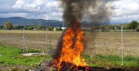 Sorpreso a dar fuoco a rifiuti speciali, arrestato 52enne