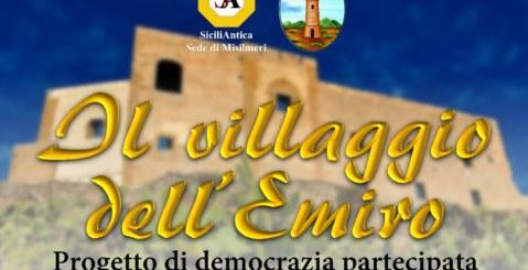 """Democrazia partecipata, """"Il villaggio dell'Emiro"""" progetto di SiciliAntica Misilmeri"""