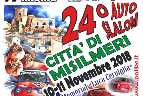 A due giorni dal via, 88 iscritti al 24° Slalom Città di Misilmeri – Memorial Luca Cerniglia