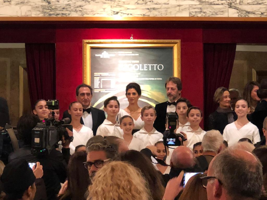 Antonino Matteo Bonanno inaugura la stagione del teatro dell'Opera di Roma