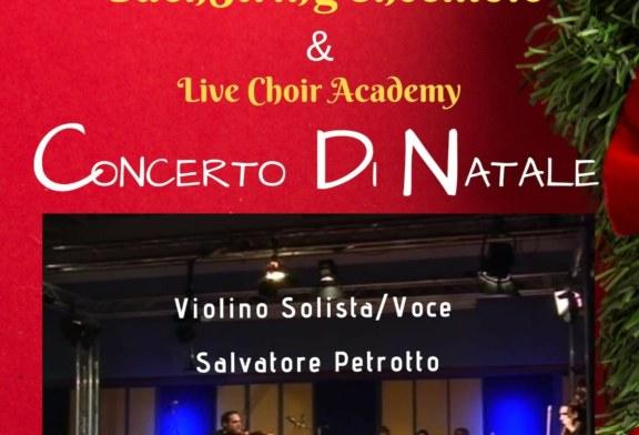 Portella di Mare, concerto di natale del maestro Salvatore Petrotto