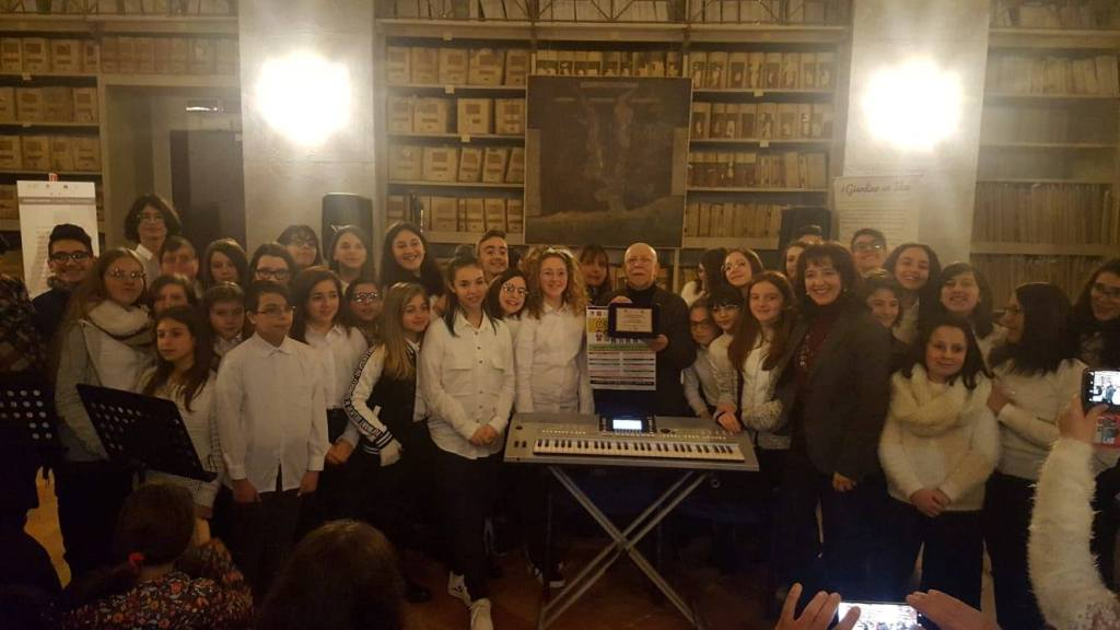 Il coro della Guastella all'archivio storico comunale di Palermo [Foto]