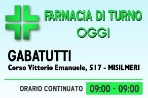 Farmacia di turno – GABATUTTI