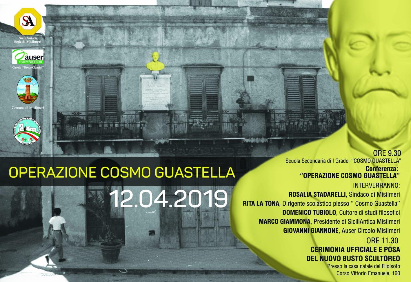 """""""Operazione Cosmo Guastella"""", al via il progetto di recupero storico e simbolico"""