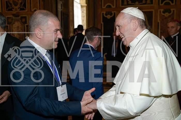 """Il Papa a Filippo Lo Bianco: """"La mia benedizione per Misilmeri"""""""