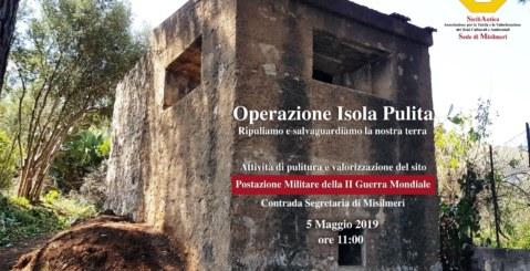 SiciliAntica Misilmeri aderisce alla campagna ambientalista Isola pulita