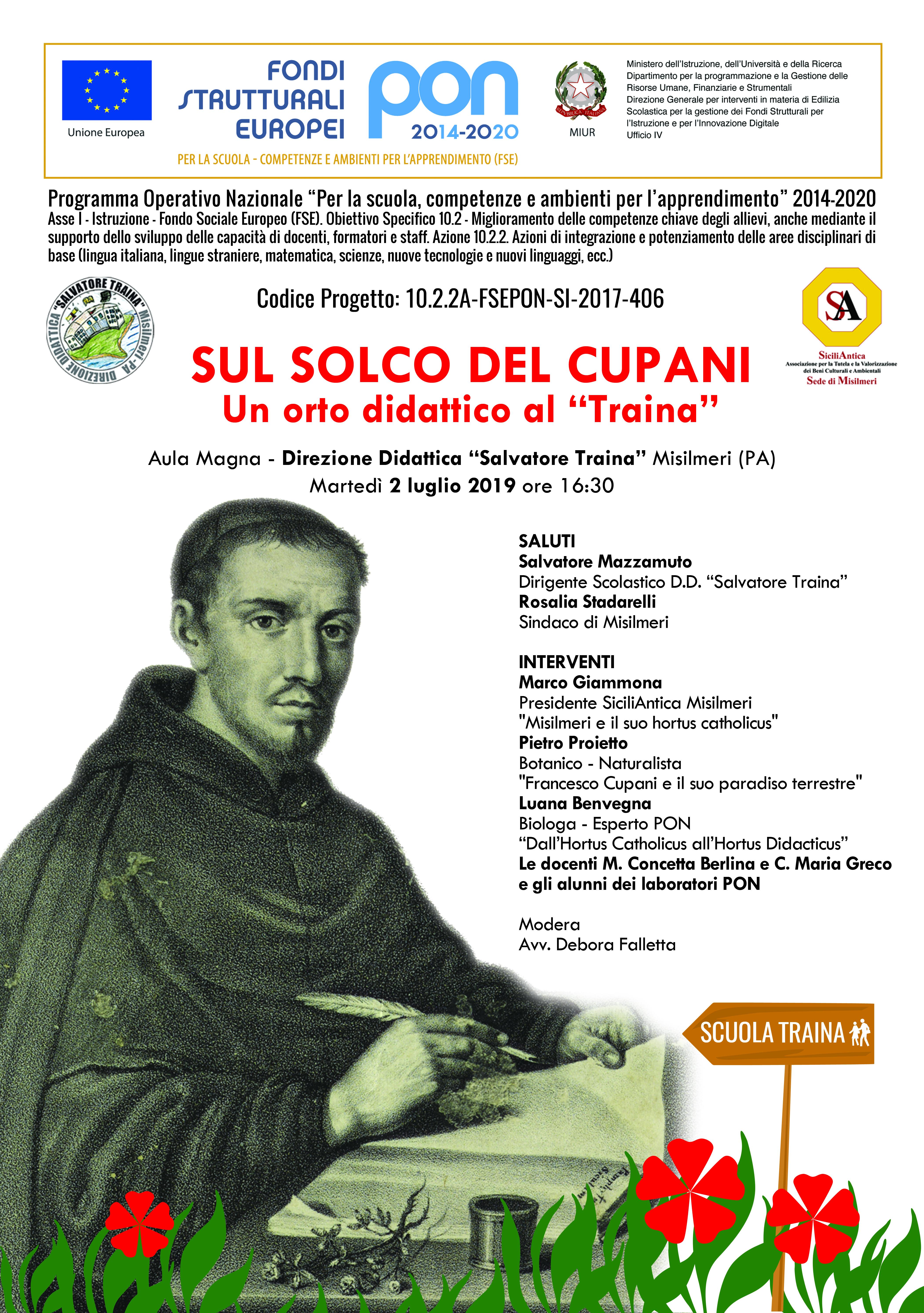 Sul Solco di Cupani, martedì l'evento di SiciliAntica al Traina