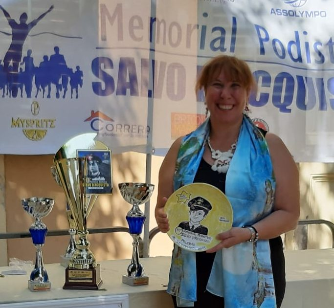 Anita Vitrano premiata al Memorial Salvo D'Acquisto