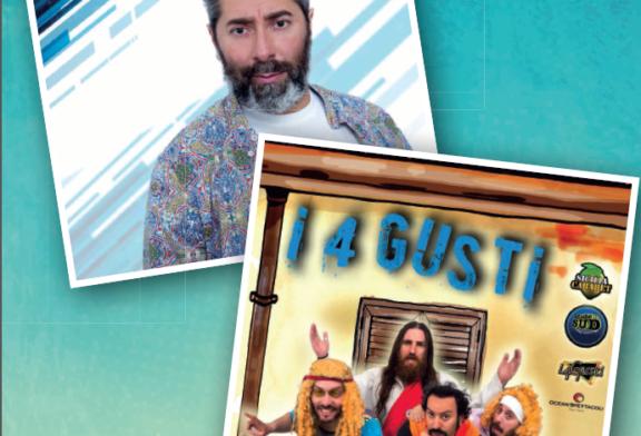 """Stasera lo spettacolo de """"I 4 Gusti"""" e Stefano Piazza"""