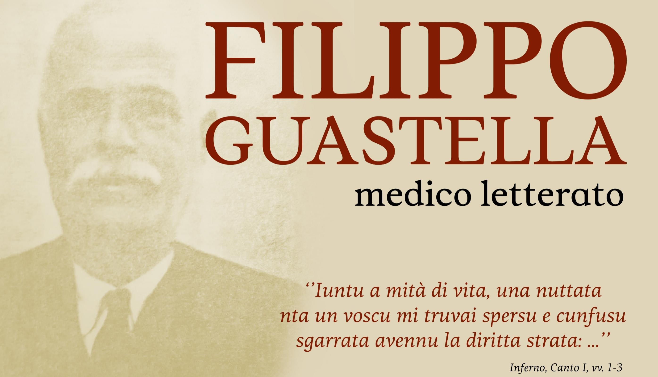 """Sabato 16 Novembre un convegno su """"Filippo Guastella, medico letterato"""""""