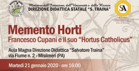 """La scuola """"Traina"""" ricorda il naturalista Francesco Cupani"""
