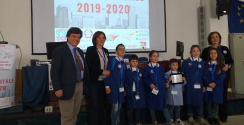 """La scuola Traina al """"Premio Scuola Digitale 2019-20"""""""