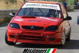Daniele Iacona al via del Campionato Velocità su pista