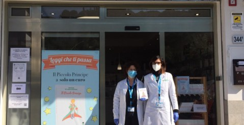 La lettura contro il Coronavirus, iniziativa benefica della Farmacia Costa Principe