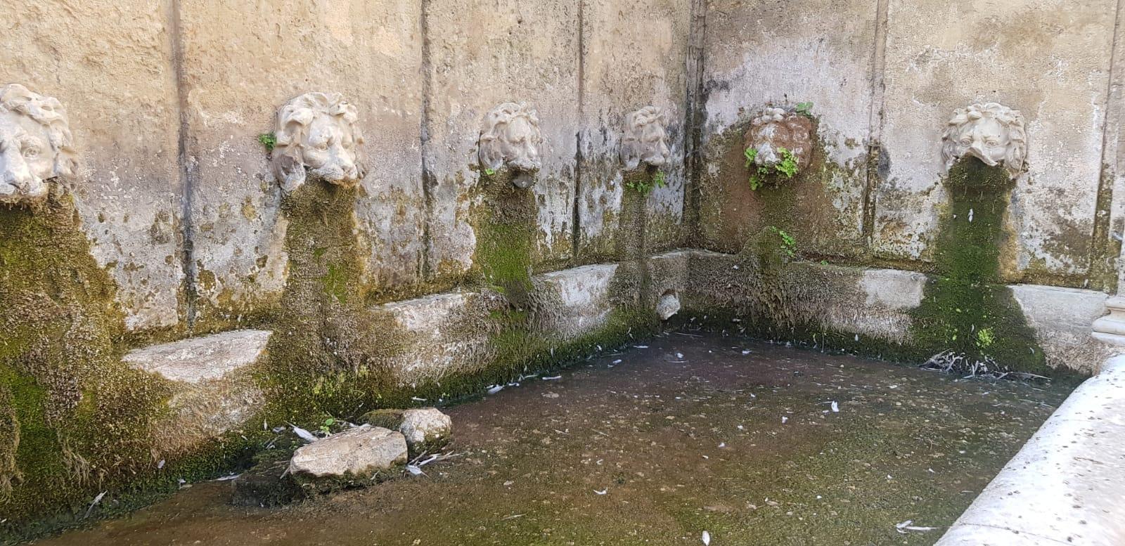 La Fontana Grande a secco: cos'è successo?