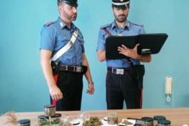 Padre e figlia arrestati per droga