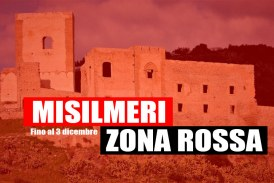 Misilmeri, prorogata la Zona Rossa al 3 dicembre