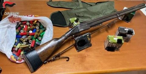 Misilmeri. Armi e munizioni in un camper